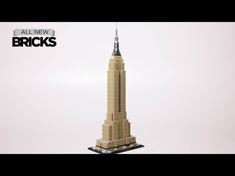 Vidéo LEGO Architecture 21046 : Empire State Building, New York, Etats-Unis
