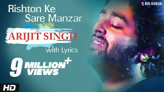 Arijit Singh - Rishton Ke Saare Manzar | Best Hindi   - YouTube