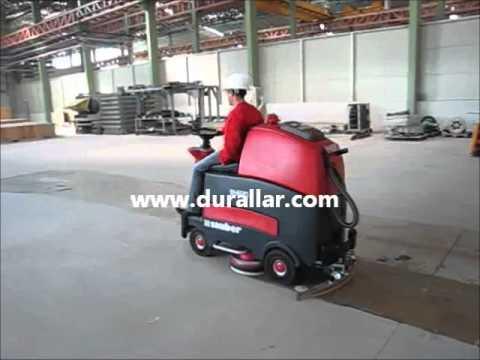 Cleanfix Sauber Binicili Akülü Zemin Temizlik Makinesi
