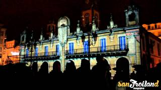 preview picture of video 'Video mapping en el Concello de Lugo'