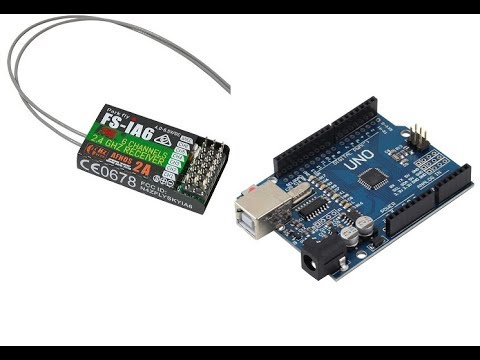 Setting up Radio Control with Arduino and a FlySky