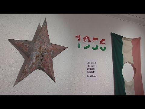 Várnegyed Galéria - 1956 emlékei - video preview image