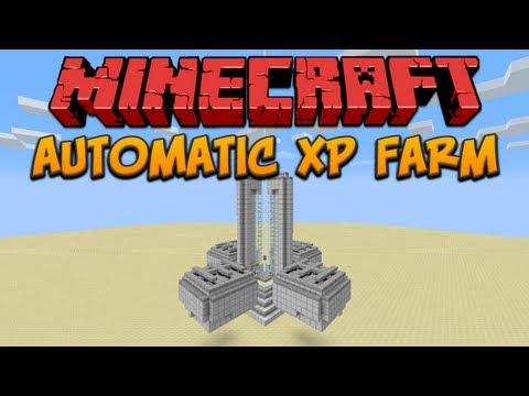 automatic xp farm minecraft project