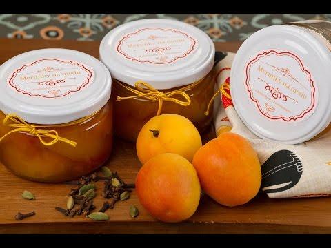 Meruňky na medu zavařené v běžném hrnci