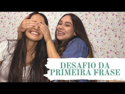 DESAFIO DA PRIMEIRA FRASE feat. Pâmella Ohanna | Os Livros Livram