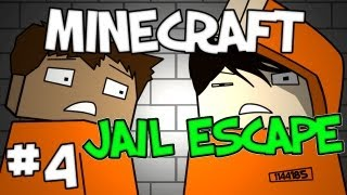 "Minecraft -  ""Jail Escape"" Part 4: On the Fence"