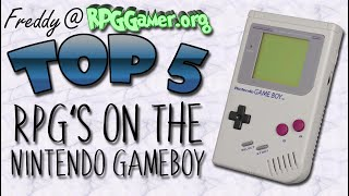Top Five: RPG's On The Nintendo Gameboy
