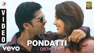 Osthi - Pondati HQ Full Video Song