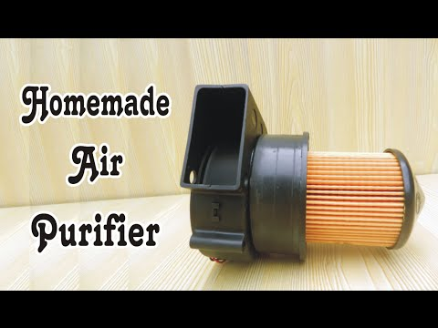 Video How To Make Homemade Air Purifier