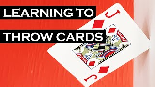 Learning To Throw Playing Cards in 24 Hours