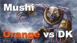 Orange vs DK - kyxY Magnus - Mushi Ursa ti3 Dota 2.