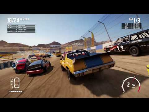 Wreckfest - Xbox One X Gameplay