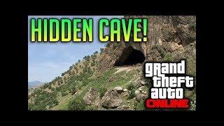GTA 5 Hidden BIG FOOTS Cave location Offline/Online (FOUND)