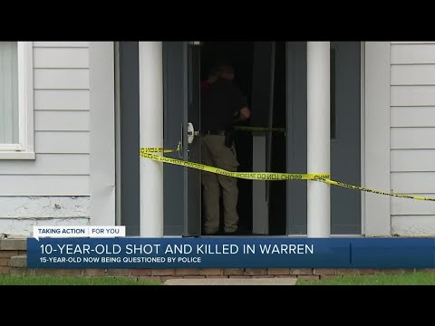 Teen arrested in killing of 10-year-old in Warren