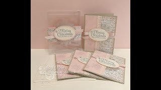 Snowflake Sentiments Gift Box & Card Set
