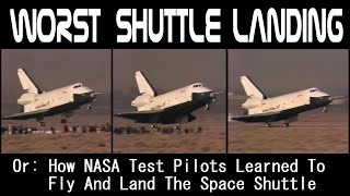 How NASA Learned To Fly The Space Shuttle Like A Glider