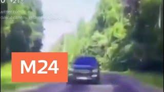 Два человека пострадали в ДТП с участием сотрудника полиции в Серпухове - Москва 24