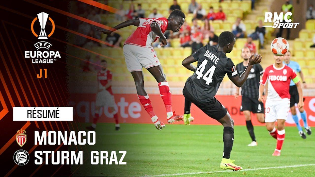 Résumé : Monaco 1-0 Sturm Graz - Ligue Europa J1