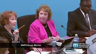 08/28/18 MNPS Board Meeting