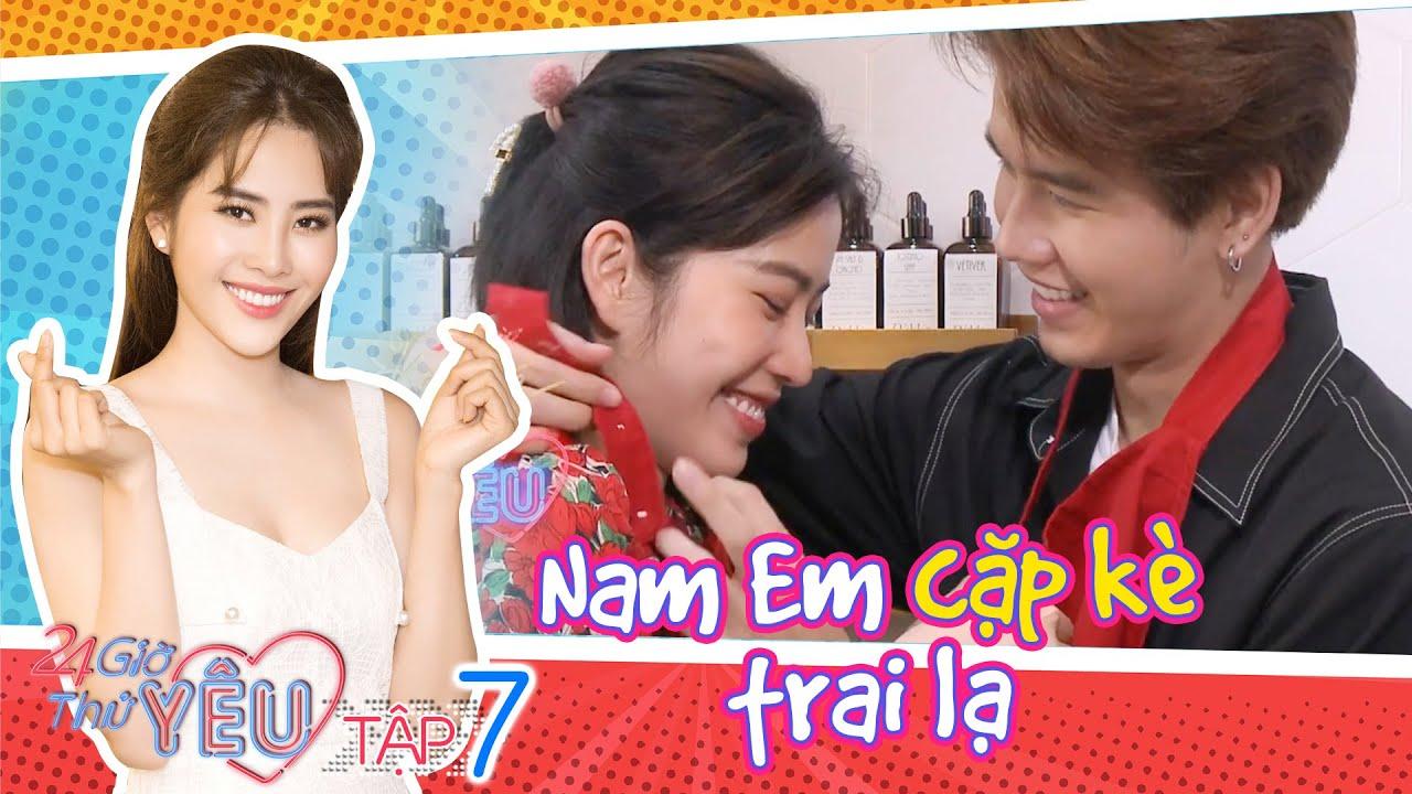 24H Thử Yêu| Mùa 2 | Tập 7: Nam Em dính chặt tay bạn trai mới, thề không bao giờ nói
