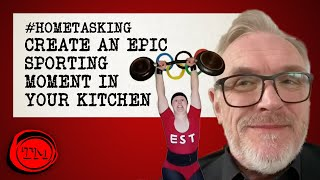 Create an Epic Sporting Moment in Your Kitchen | #HomeTasking #StayHome