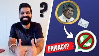 Indian Government Letter To Whatsapp - Whatsapp Privacy Policy Updates🔥🔥🔥