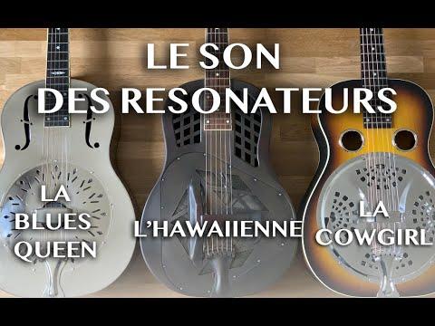 E-Mission Acoustique / Comparaison des 3 types de guitares à résonateur.
