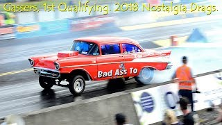 Old School GASSER and ALTERED Drag Racing - Самые лучшие видео