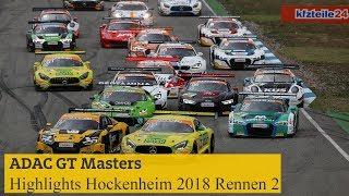 Highlights ADAC GT Masters Rennen 2 Hockenheim 2018 | Kholo.pk