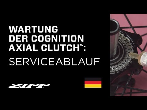 ZIPP: Wartung der Cognition Axial Clutch™
