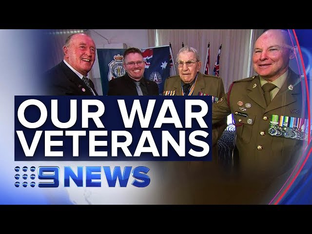 Meet four generations of Australian war veterans | Nine News Australia