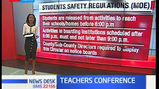Teachers hold conference on Students Safety Regulations (SSR)