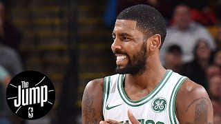 Kyrie Irving continues to claim the earth is flat | The Jump | ESPN
