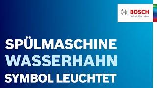 Junker spülmaschine wasserhahn symbol blinkt? technik technologie
