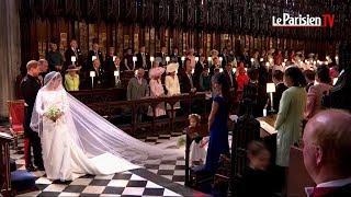 Mariage princier : L'arrivée de Meghan Markle et du prince Harry