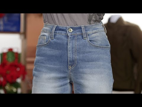 Rokker Womens Rokkertech High Waisted Slim Jeans Review