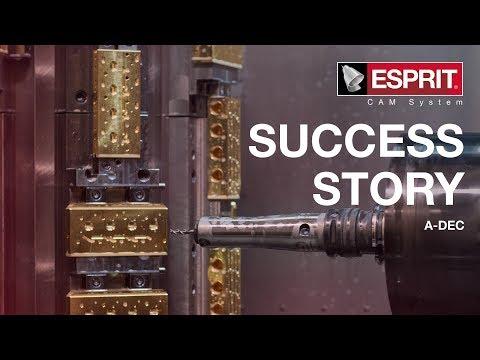 ESPRIT CAM - Customer Success: A-dec