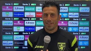 Intervista a mister Grosso dopo Frosinone-Pisa