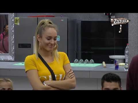 Zadruga 2 - Luna i Marko o svom odnosu - 18.10.2018.