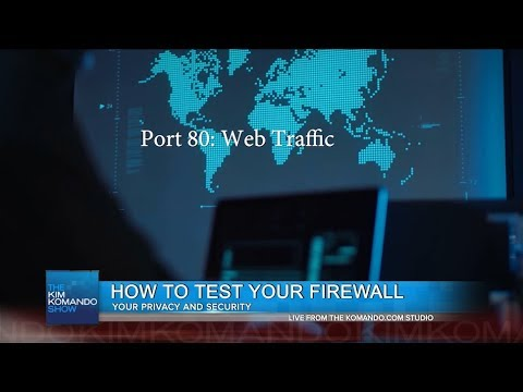 Test your firewall to make sure it's working