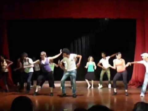 video:Performance in Santiago de Cuba July 2013