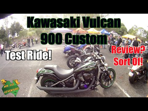 I Ride A Cruiser! Kawasaki Vulcan 900 Custom Test Ride