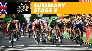 Summary - Stage 8 - Tour de France 2018