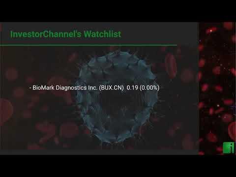InvestorChannel's Cancer Diagnostics Watchlist Update for Wednesday, September, 22, 2021, 16:00 EST
