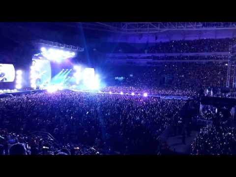 Coldplay - Fix you (final) Live in São Paulo 2016