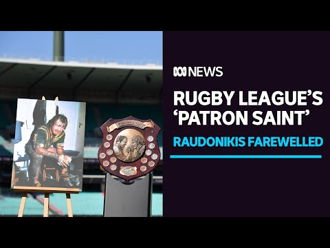 Tommy Raudonikis remembered as rugby league's 'patron saint' at final farewell at SCG | ABC News
