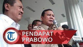 Ledakan Granat Asap di Monas, Menhan Prabowo: Kita Lihat Perkembangan Penyelidikan