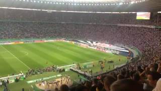 Pfiffe gegen Helene Fischer beim Pokalfinale 2017