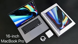 16-inch MacBook Pro Unboxing, Setup, Comparison and First Look