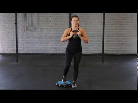 Lateral To Circle Lunge – Kettle Bell